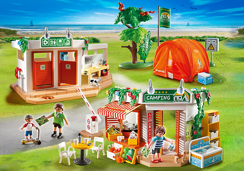 Playmobil Camp site set