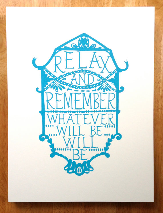 Relax.... print.
